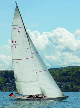 1924 William Fife Iii Racing Sailboat