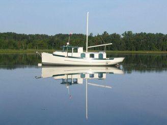 2001 Fantail Cruiser Trawler