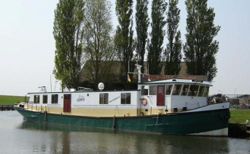 1996 Commercial Passenger Hotel ship