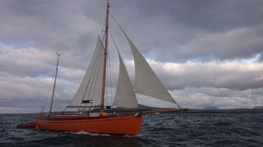 1934 Traditional Colin Archer type Gaff ketch