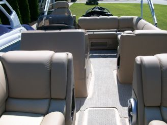 2014 Harris Flotebote Grand Mariner 230 SL with 225 HP
