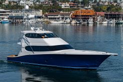 2008 Hatteras Enclosed bridge convertible