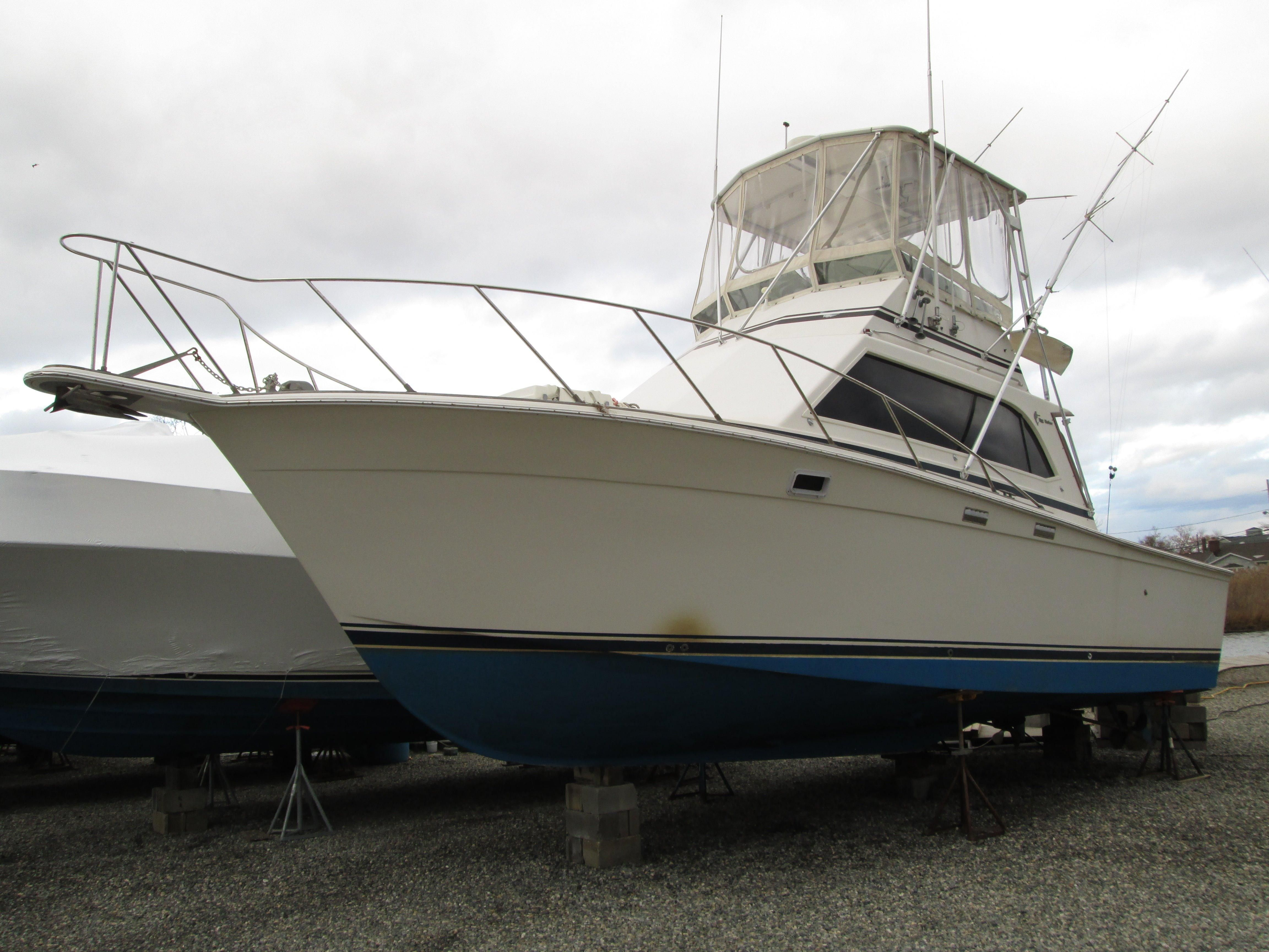 World Cat Boats For Sale >> 1986 Egg Harbor 35 Sport Fisherman Power Boat For Sale