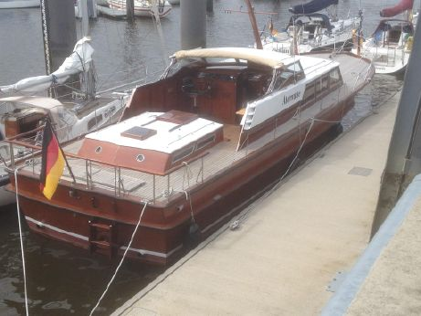 1971 Hatecke Mahagoni Motoryacht