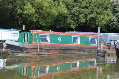 1997 Narrowboat 40' Clubline Cruiser Stern