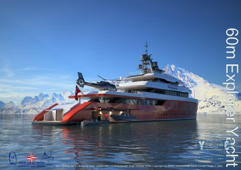 2019 New Project 2017 Motor Yacht Project 60m Explore