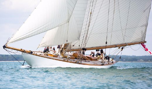1911 William Fife Iii 19 Metre Gaff Cutter