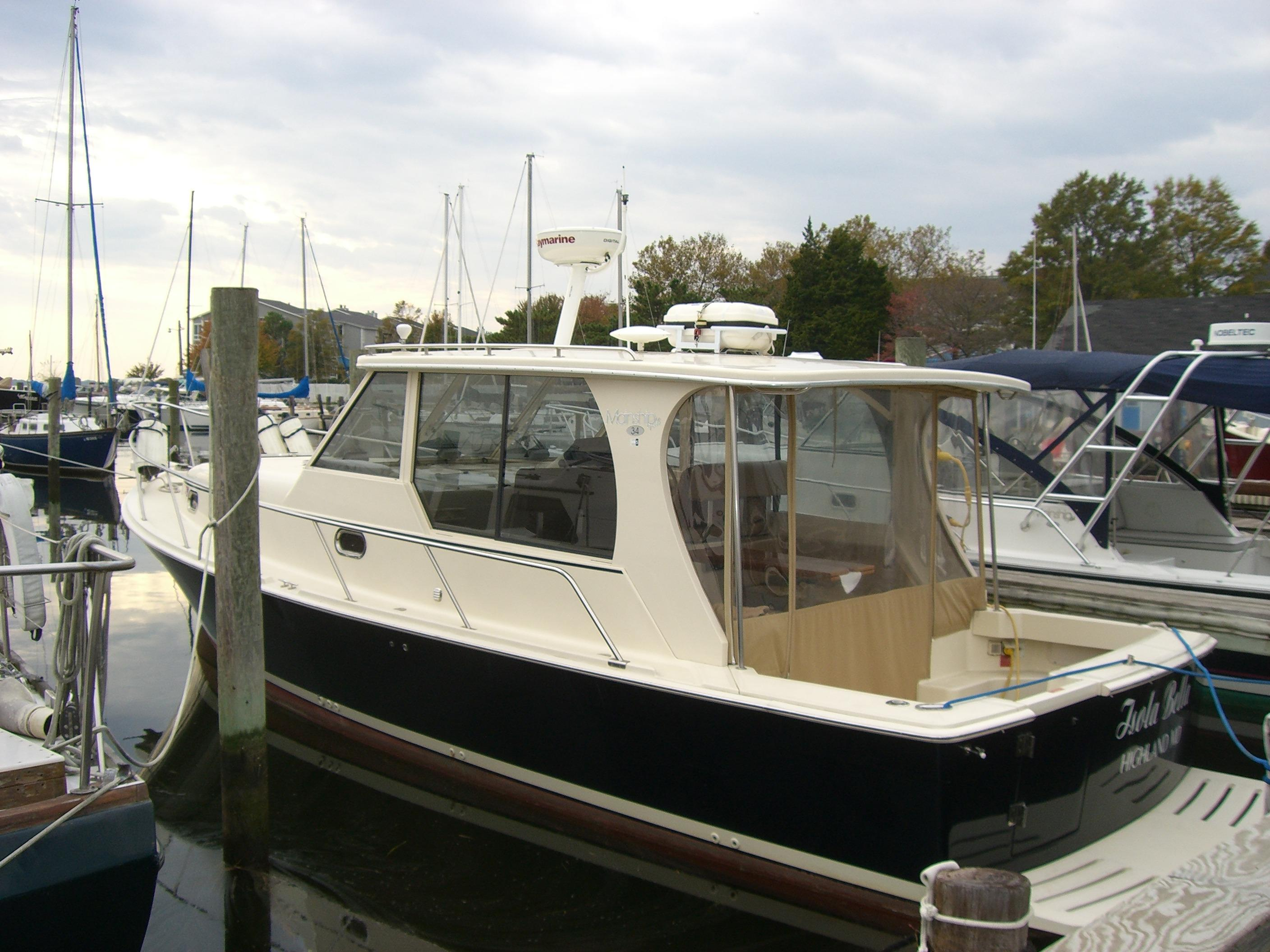 Grasonville (MD) United States  City pictures : 2008 Mainship Pilot 34 Sedan Power Boat For Sale www.yachtworld.com