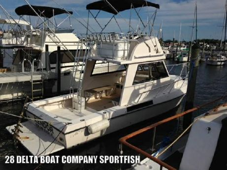 2004 Delta Canaveral Boat Co Sportfish DIVE