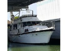 1980 Hatteras 58 Wide Body