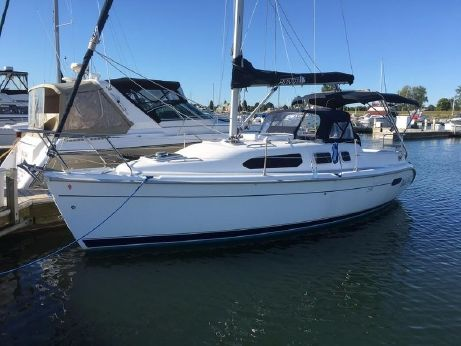 2001 Hunter Marine 290