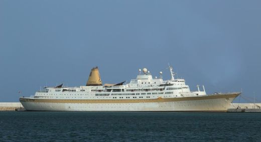 1964 Famous Cruise Ship Converted To Floating Hotel - Stock No. S2100