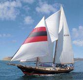 1982 Herreshoff Mobjack Staysail Schooner 45