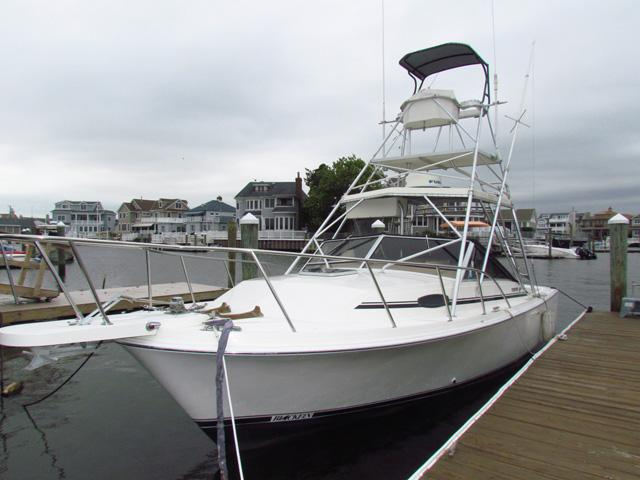 29 ft 1990 blackfin combi