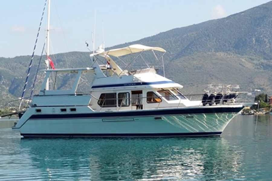 2001 trader 445 power new and used boats for sale www for Klakring motor co annapolis