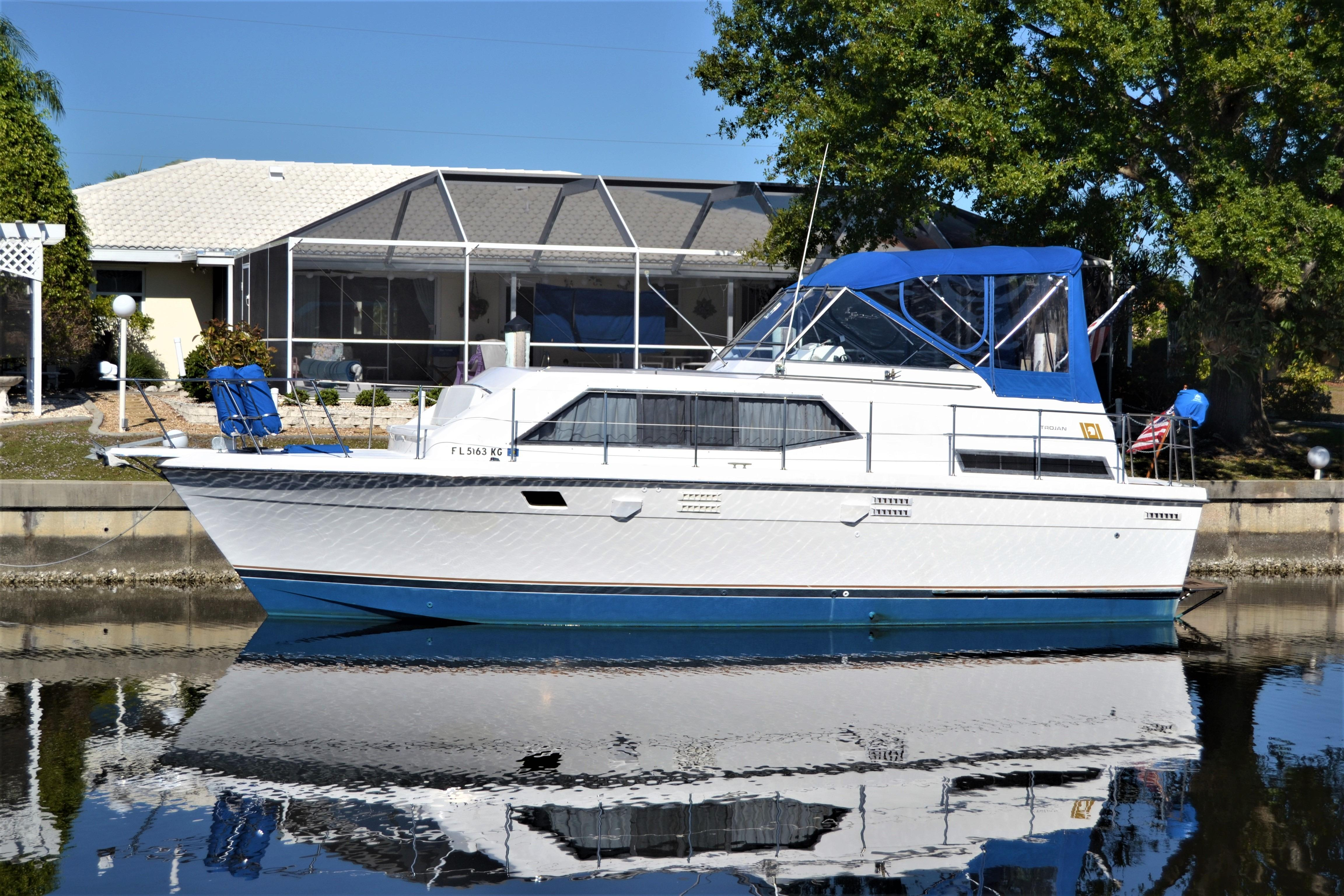 1980 Trojan 36 Tri Cabin Power New And Used Boats For Sale