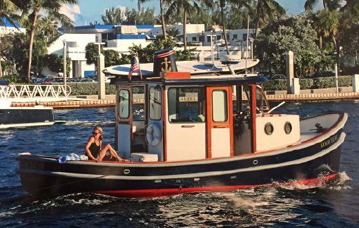 2001 Crosby Pleasure Tug Trawler