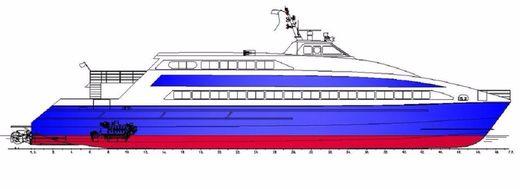 2016 New Build - 42m 400 Pax Seacat Ferry