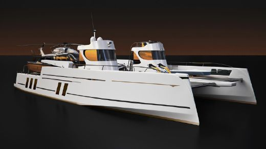 2013 Arista Marine Phantom 24 Superyacht Support Vessel concept