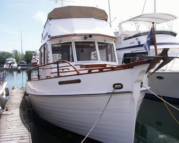 1968 Grand Banks Trawler Power Boat For Sale Www