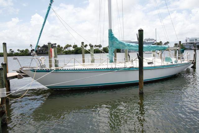 1977 morgan starrett jenks 45 aft cockpit sail boat for sale. Black Bedroom Furniture Sets. Home Design Ideas