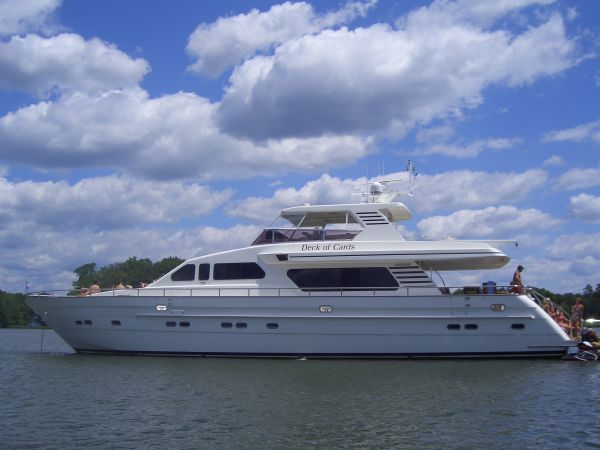pre owned 82 horizon yacht