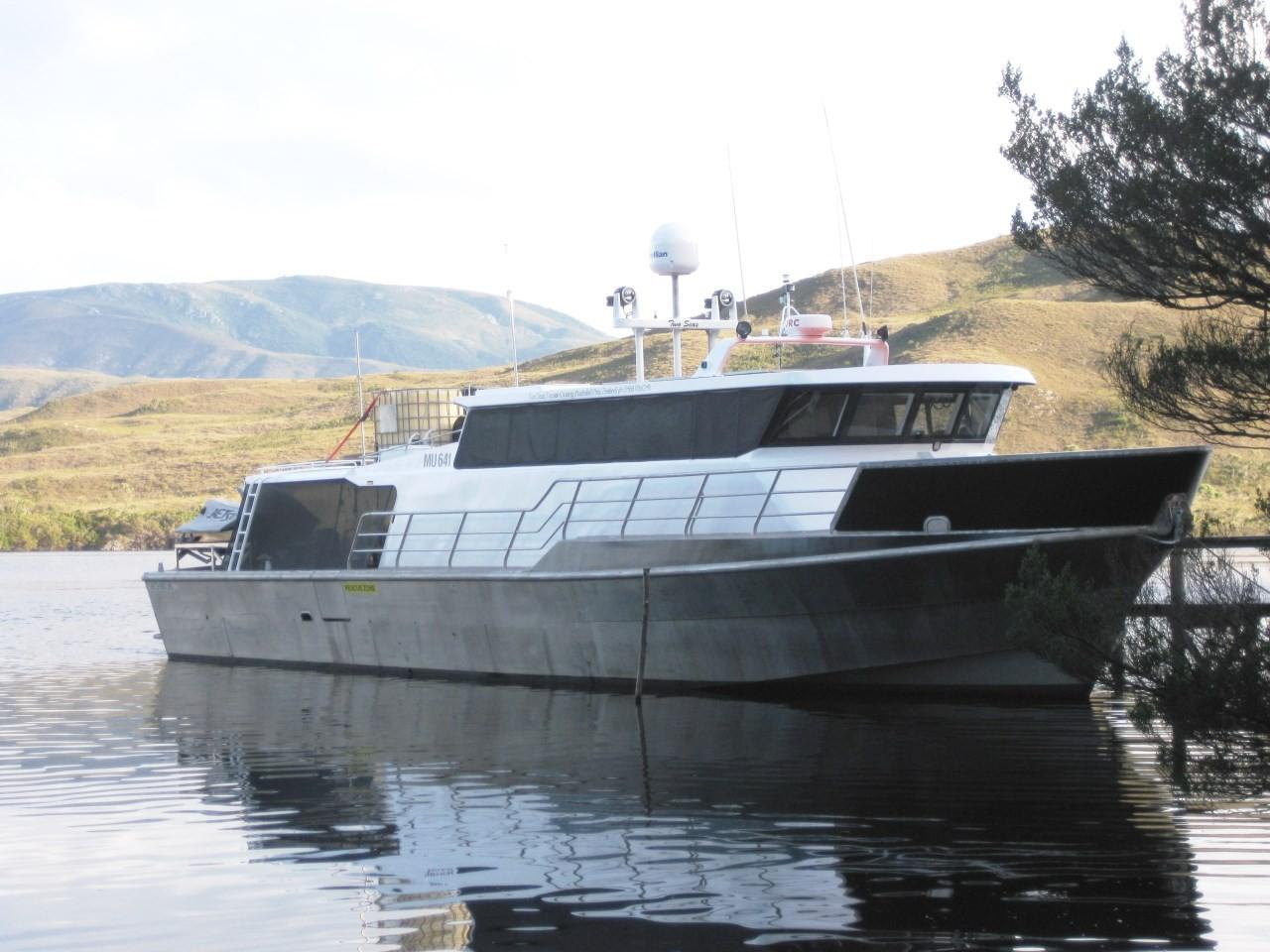 2006 Legend Boats Aluminum Exploration Vessel Power Boat