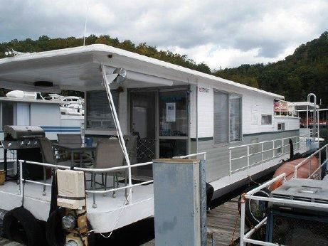 1973 Stardust Cruiser Houseboat 13 x 58