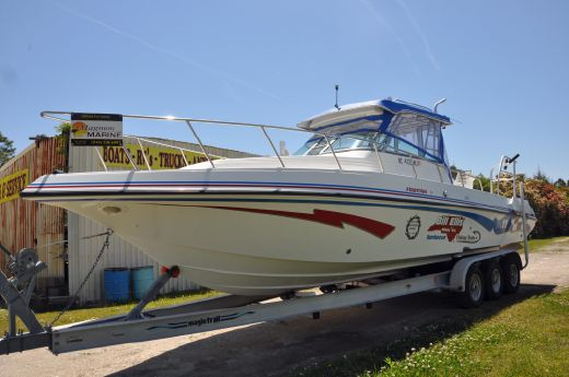 2000 Fountain 32 Sportfish Cruiser IO
