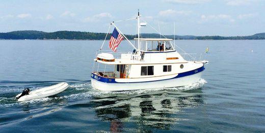 1988 Kadey Krogen Manatee Trawler With Hardtop
