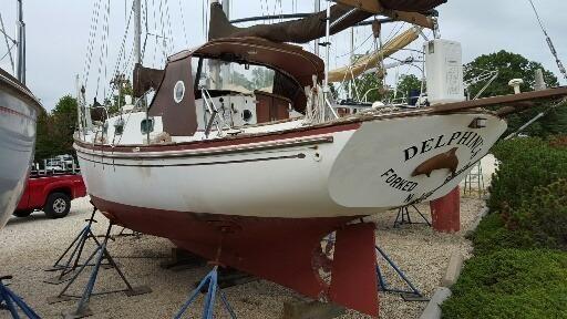 1980 Ted Herman's Boat Shop Lazy Jack 32 Custom Schooner