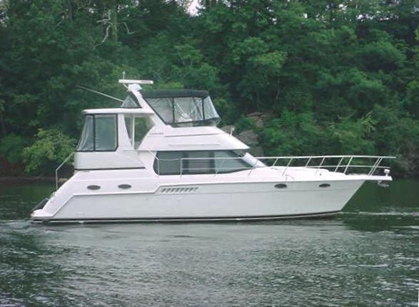 1999 Carver 356 Aft Cabin Motor Yacht Power Boat For Sale