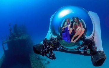 2021 Custom Superyacht Submarine