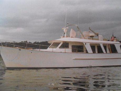 1981 Hardin 42 Sedan Trawler