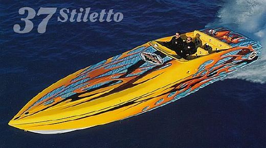 1997 Outerlimits 37 Stiletto