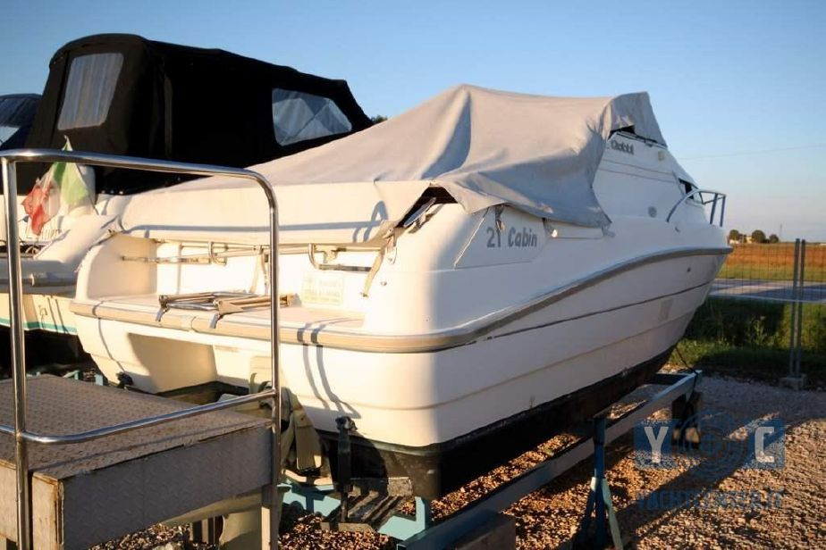 1997 gobbi 21 cabin power boat for sale - www.yachtworld.com - Cucina Con Bombola