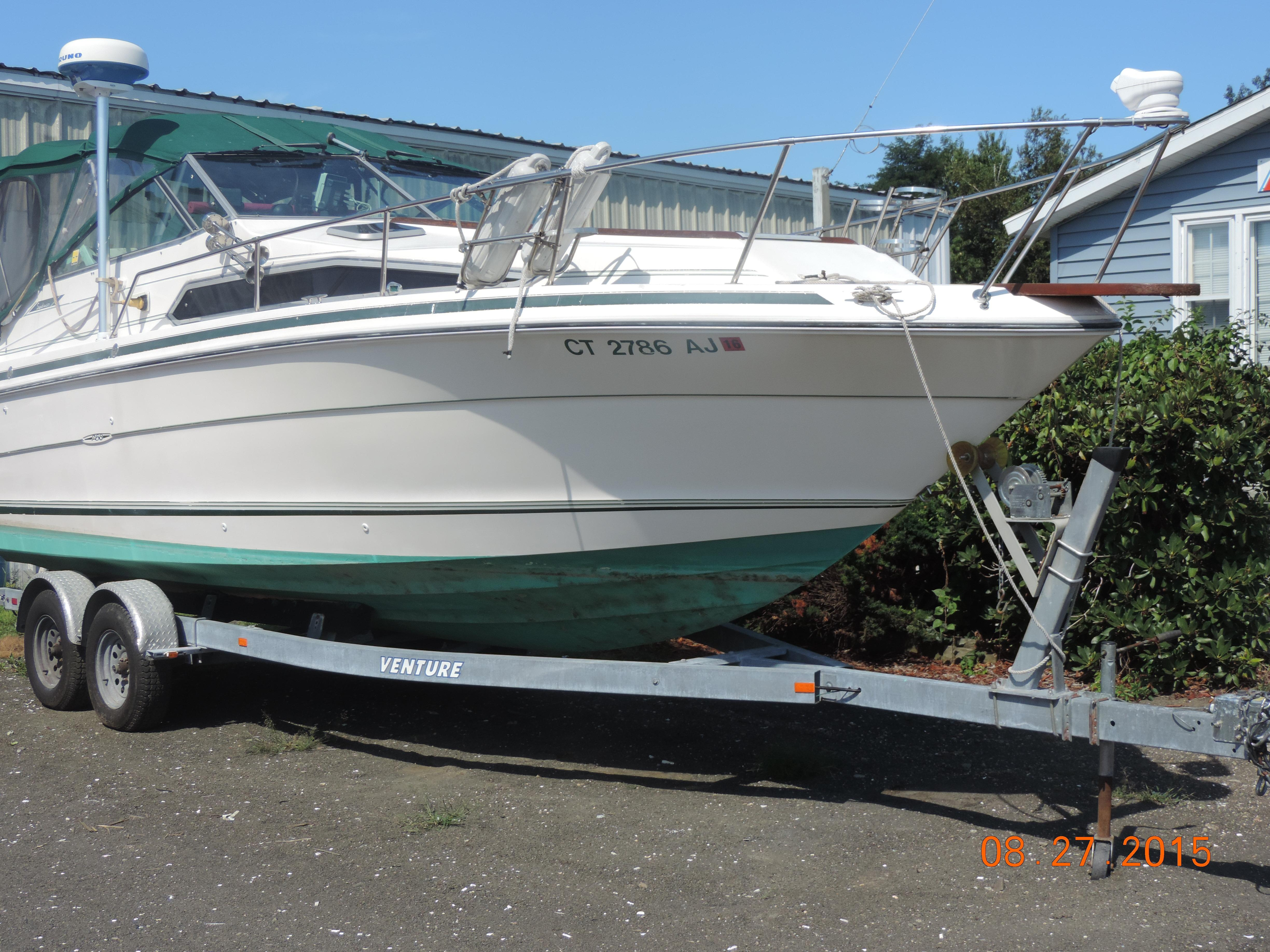 1987 Sea Ray 268 Sundancer Power New And Used Boats For Sale