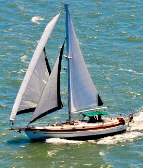1987 Hans Christian TRADITIONAL 48 CUTTER SAIL