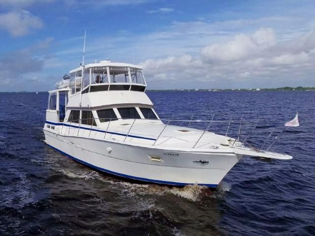 1984 Viking Motor Yacht Power Boat For Sale Www