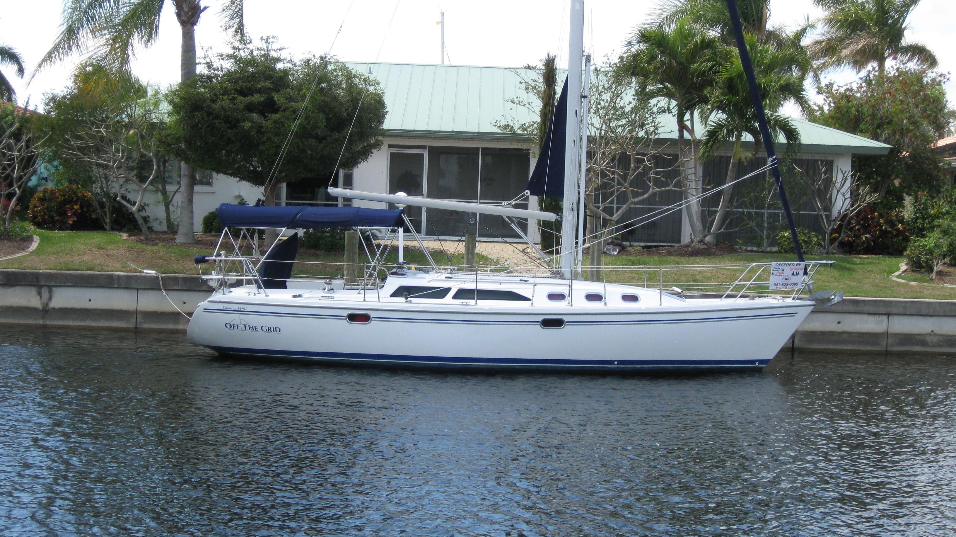 2005 catalina 34 mkii sail boat for sale www yachtworld com rh yachtworld com 1986 catalina 34 owners manual Catalina 27 Sailboat