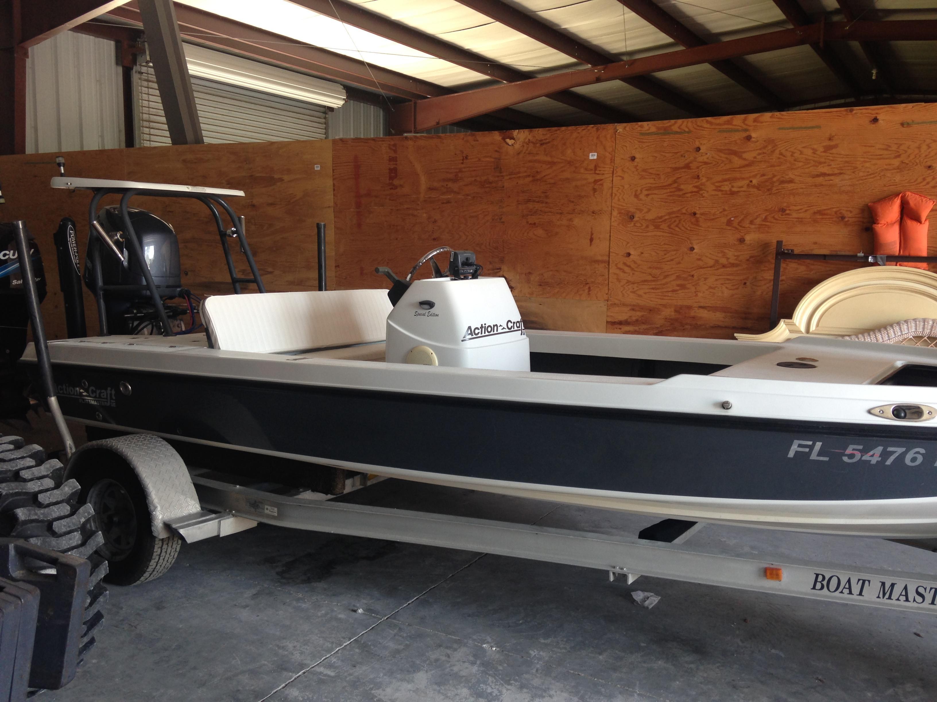 18 ft 1996 action craft 1820 se