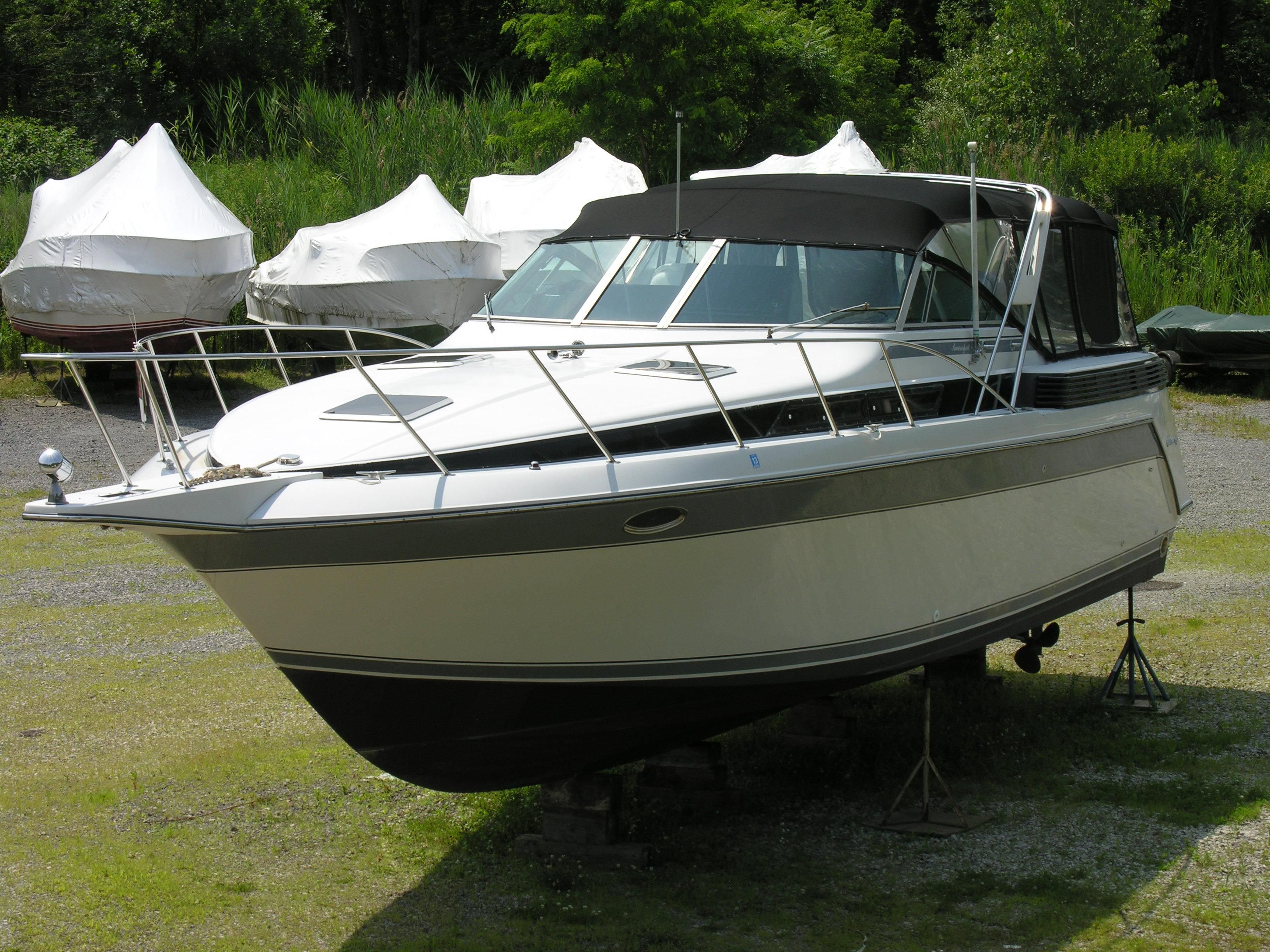 1988 chris craft 370 amerosport express power new and used for Skiff craft boats for sale