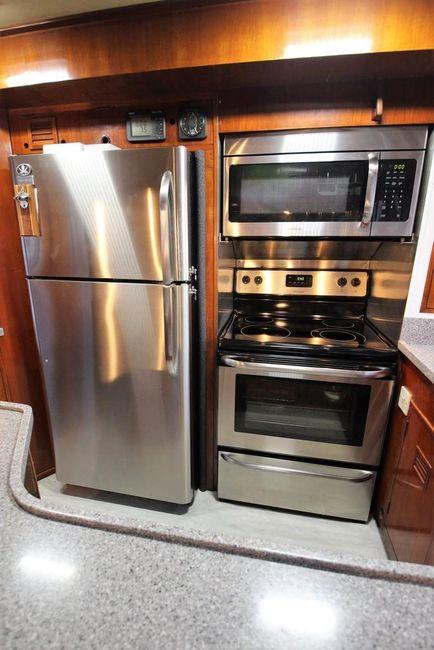 Cheoy Lee 63 Motorsailer Galley Appliances