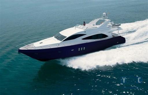 2012 Majesty Yachts 77