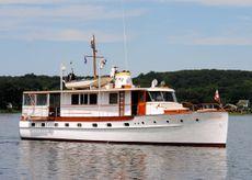 1947 Trumpy Mathis Trumpy Houseboat