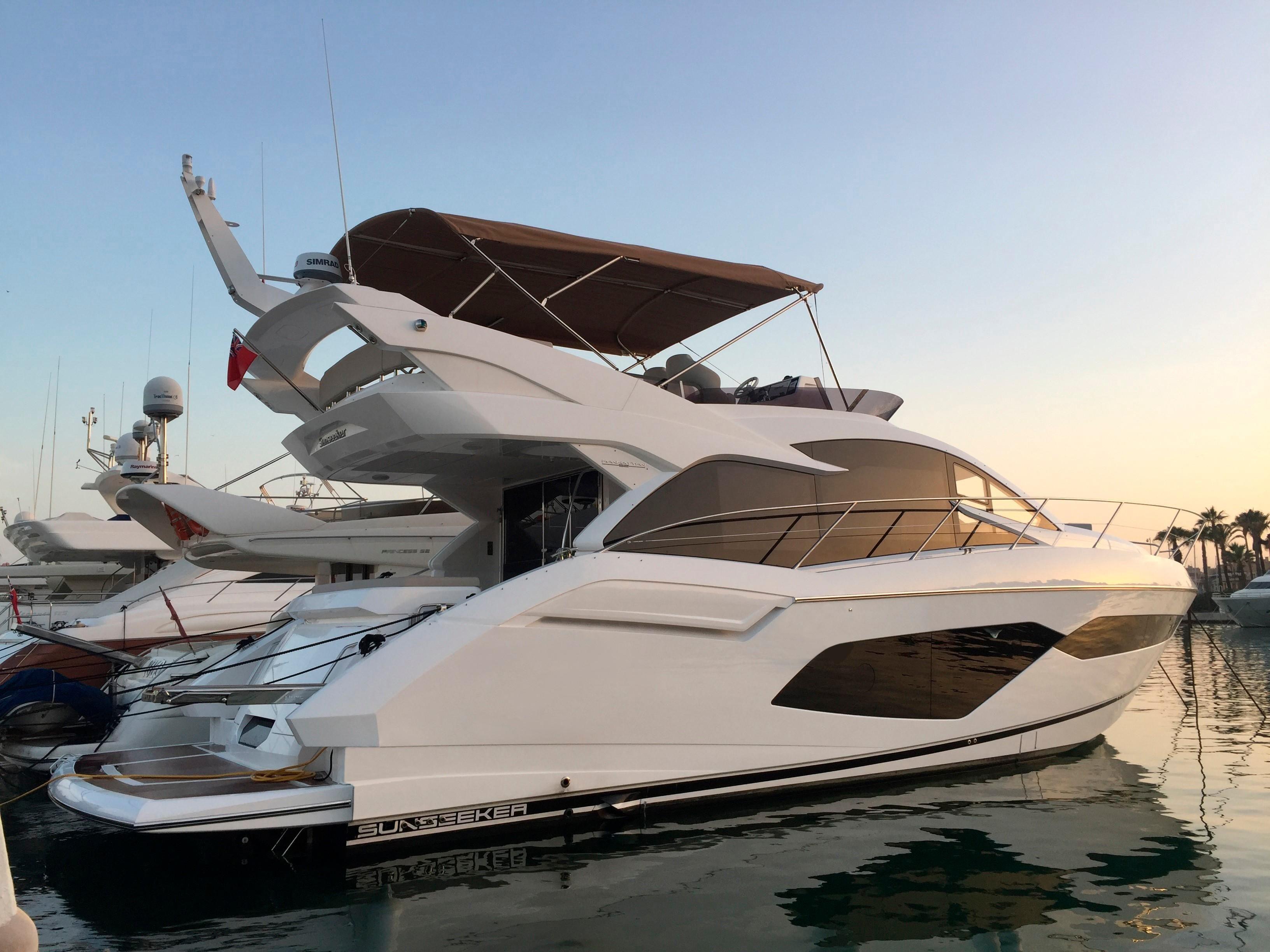 2017 Sunseeker Manhattan 52 Power Boat For Sale Www