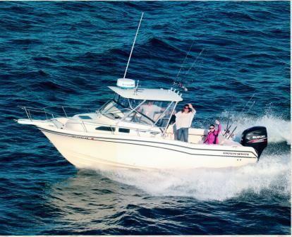 2003 Grady-White 258 Voyager Walkaround