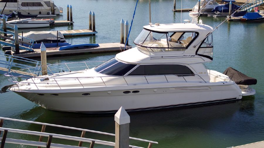 2001 Sea Ray 480 Sedan Bridge for sale in San Diego California