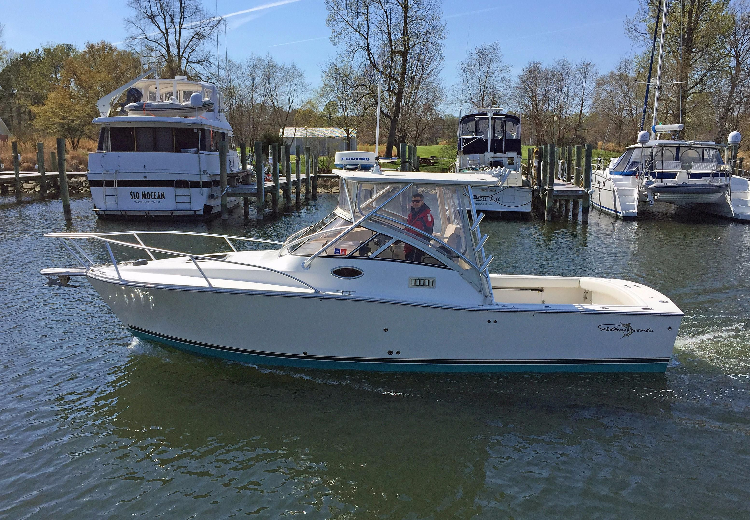 2004 albemarle 280 express fisherman power new and used for Express fishing boats for sale