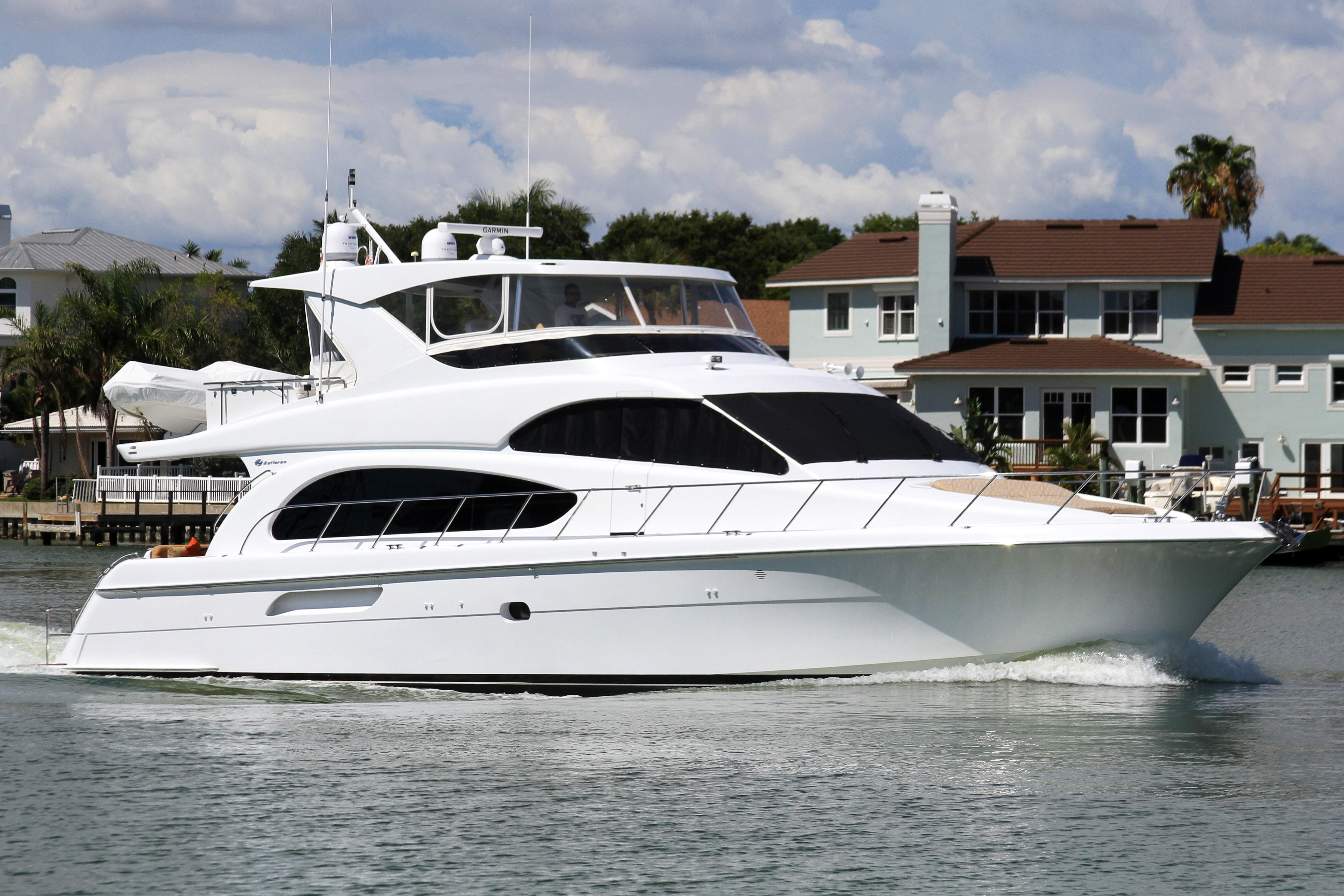 2007 hatteras 64 motor yacht power boat for sale www for Boat motors for sale in florida